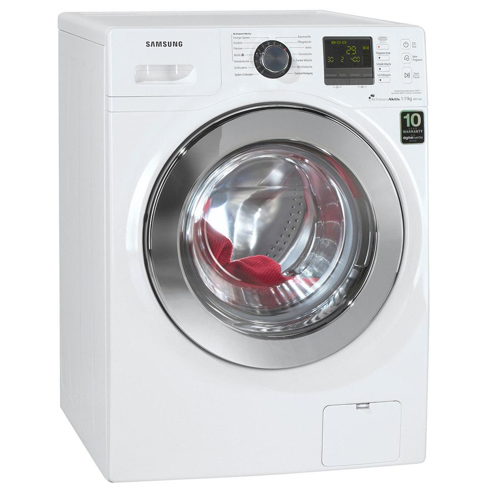 Samsung Waschmaschine WF71184ZBD/XEG, A+++, 11 kg, 1400 U/Min