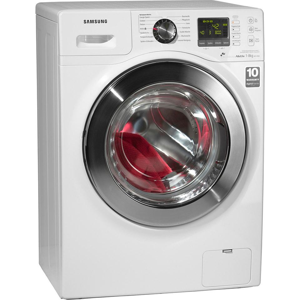 Samsung Waschmaschine WF7802XECXEG, A+++, 8 kg, 1200 U/Min