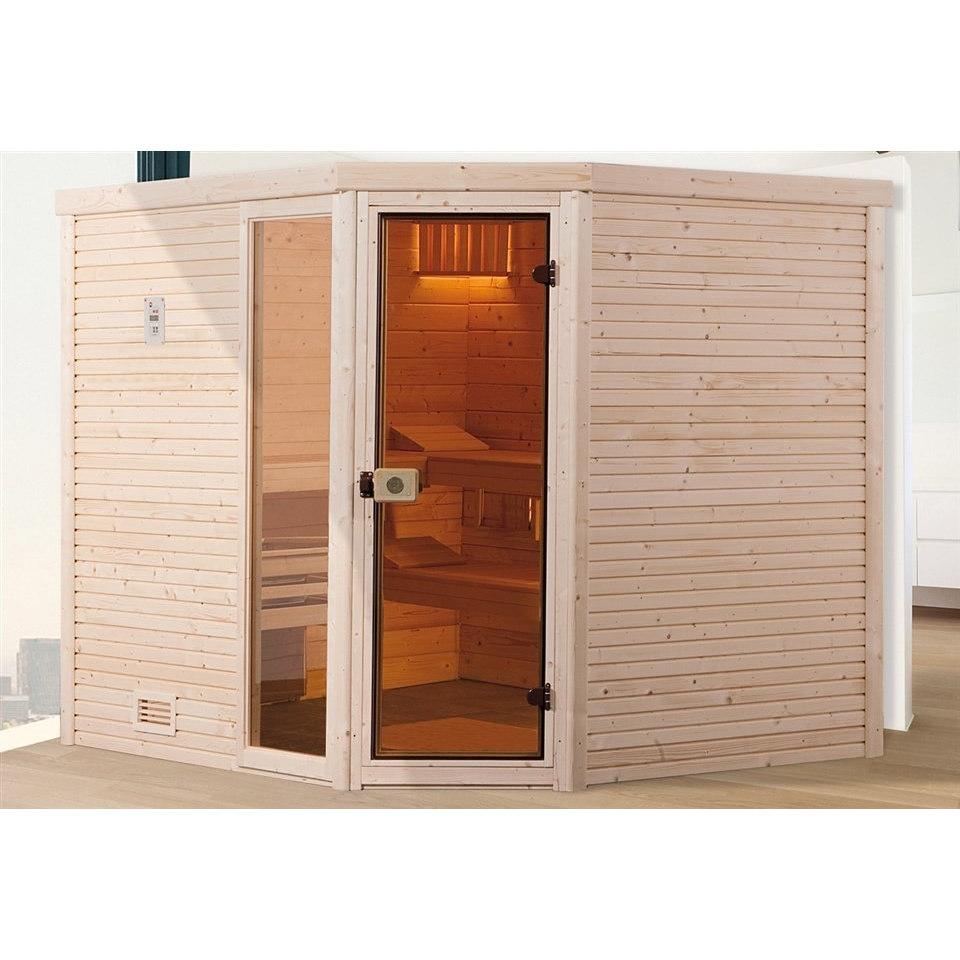 Sauna »Cubilis 1 Eck (45mm)«