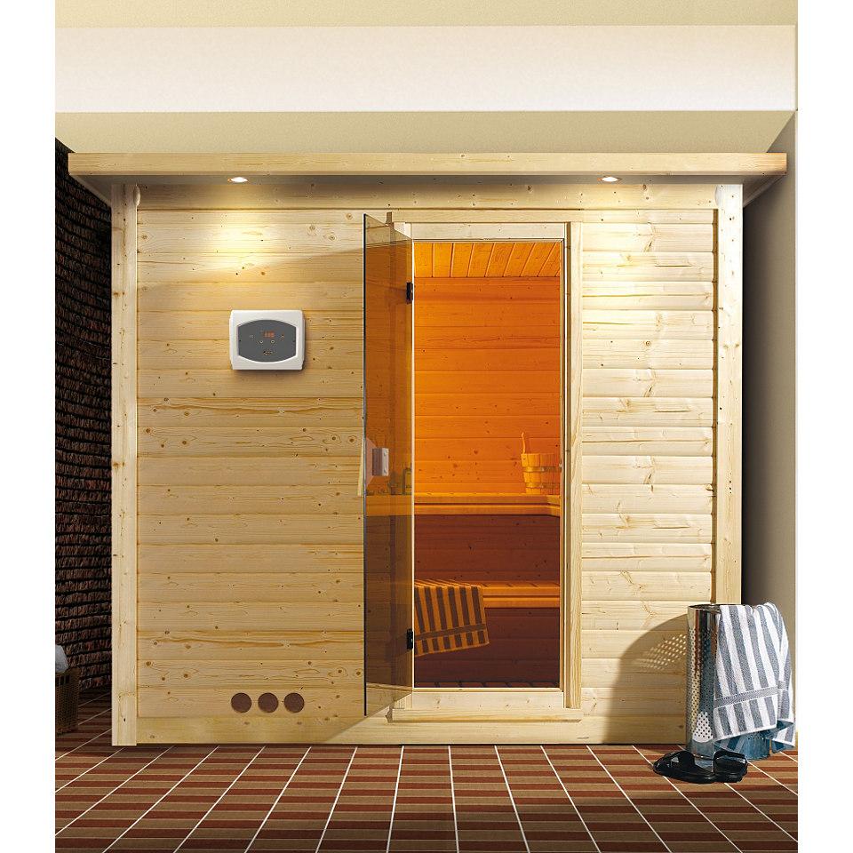 Sauna »Mojave«, 40 mm Wandstärke