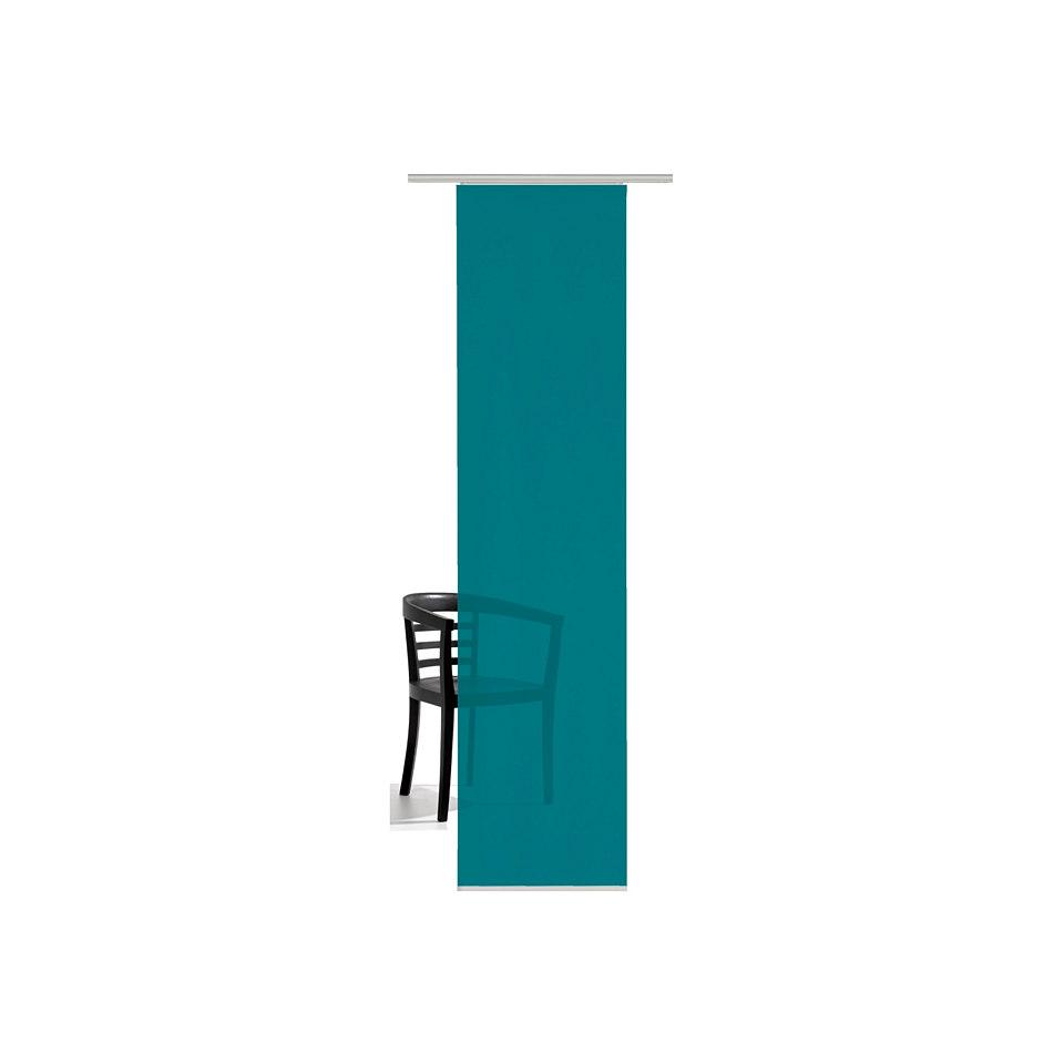 Schiebevorhang, Emotiontextiles, �Unifarben� (1 St�ck mit Zubeh�r)