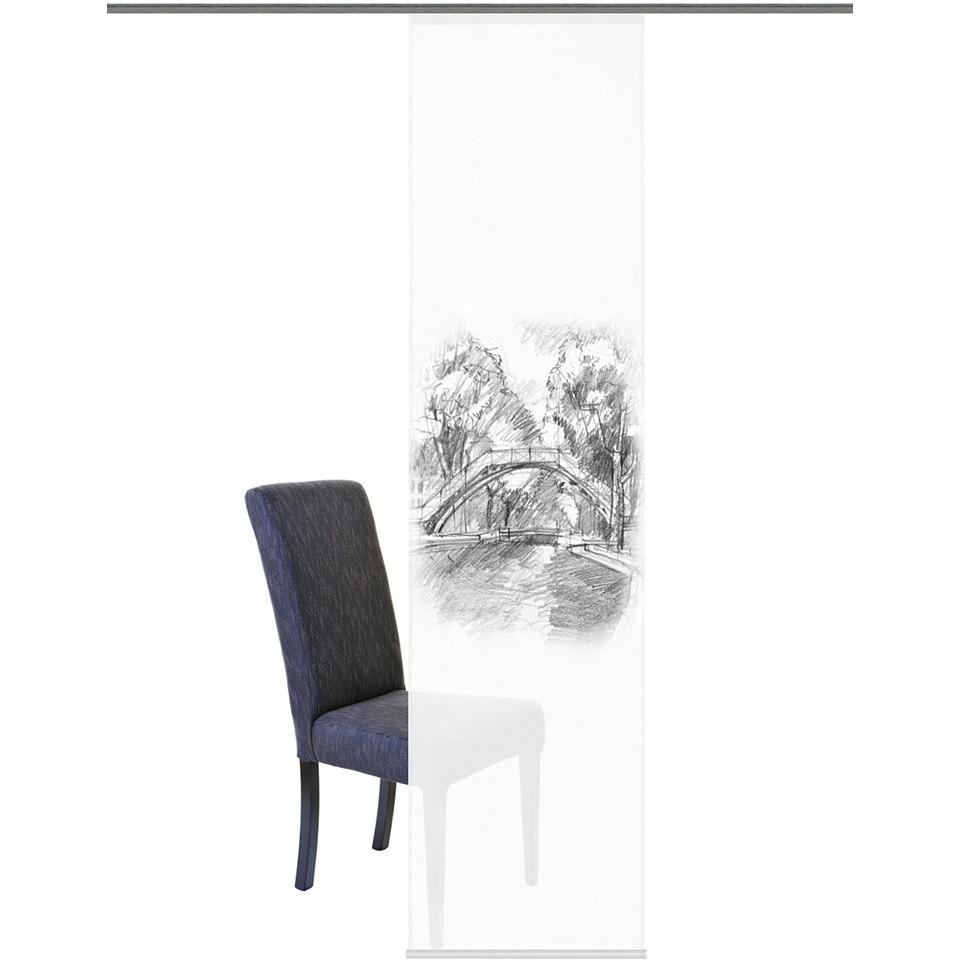 Schiebevorhang, Home Wohnideen, �Felida� (1 St�ck mit Zubeh�r)