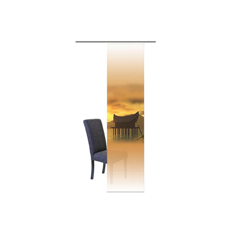 Schiebevorhang, Home Wohnideen, »Seremban« (1 Stück mit Zubehör)