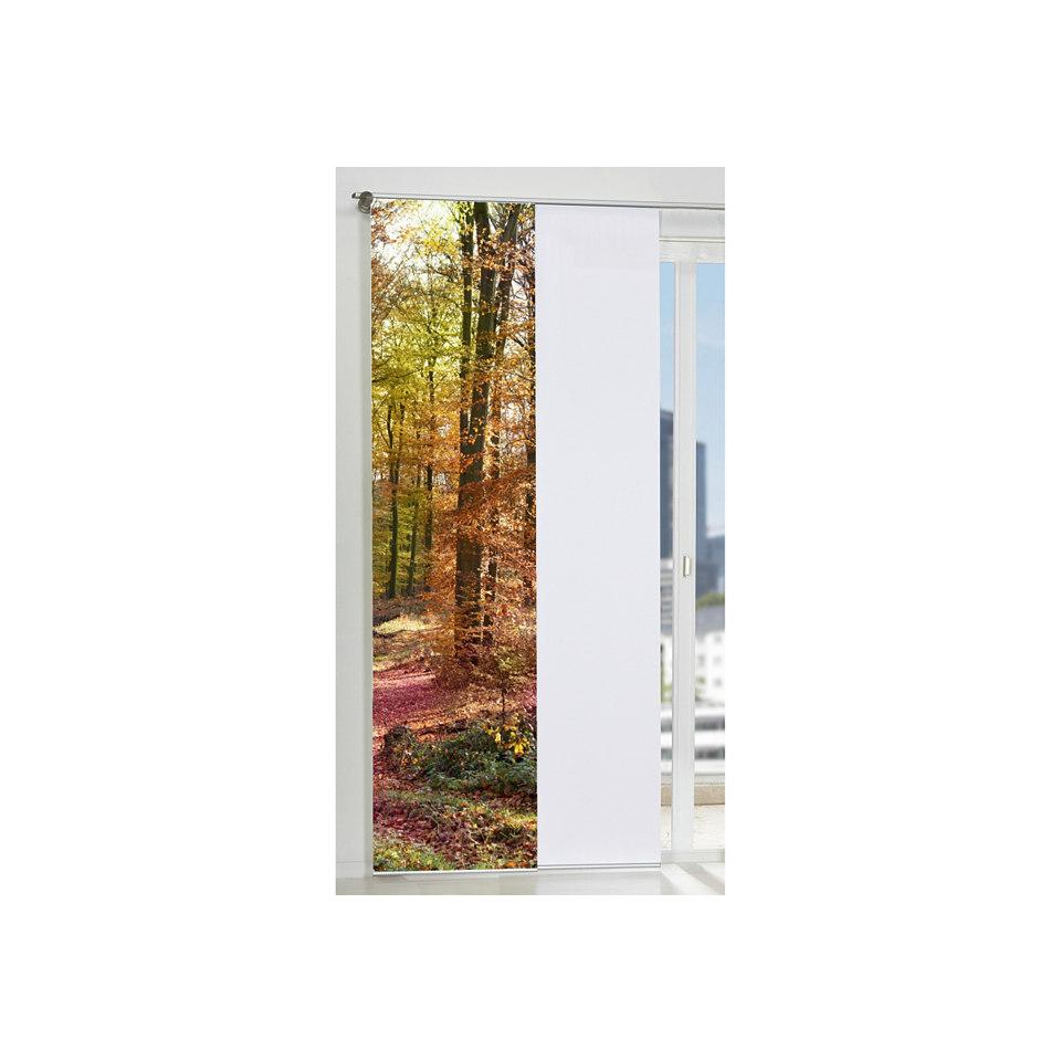 Schiebevorhang, Home Wohnideen, »Udine« (1 Stück mit Zubehör)