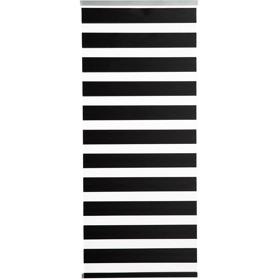 Schiebevorhang, K-home, »Sizilien«, mit Doppelrollo-Optik (1 Stück mit Zubehör)