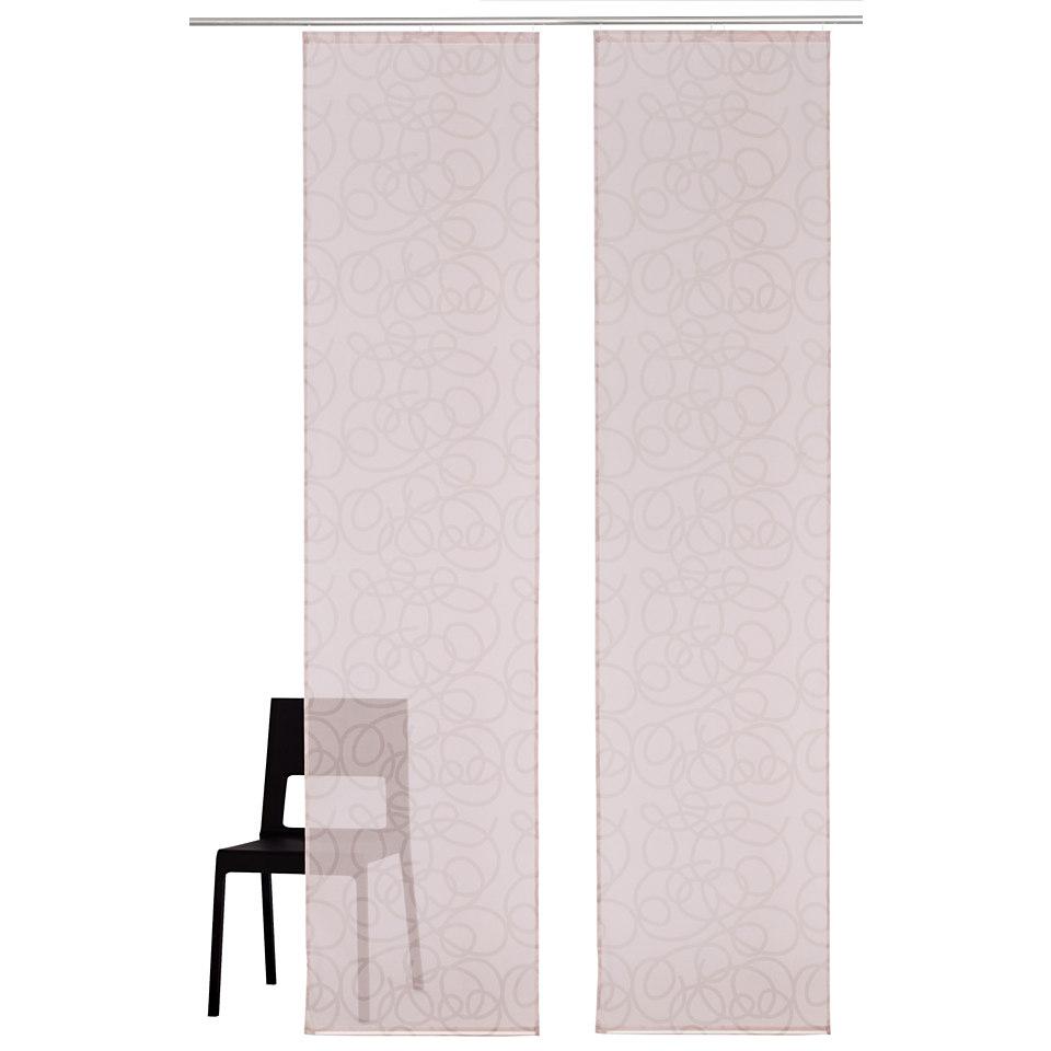 Schiebevorhang, My Home, �Tanaro� mit Zubeh�r (2 St�ck )