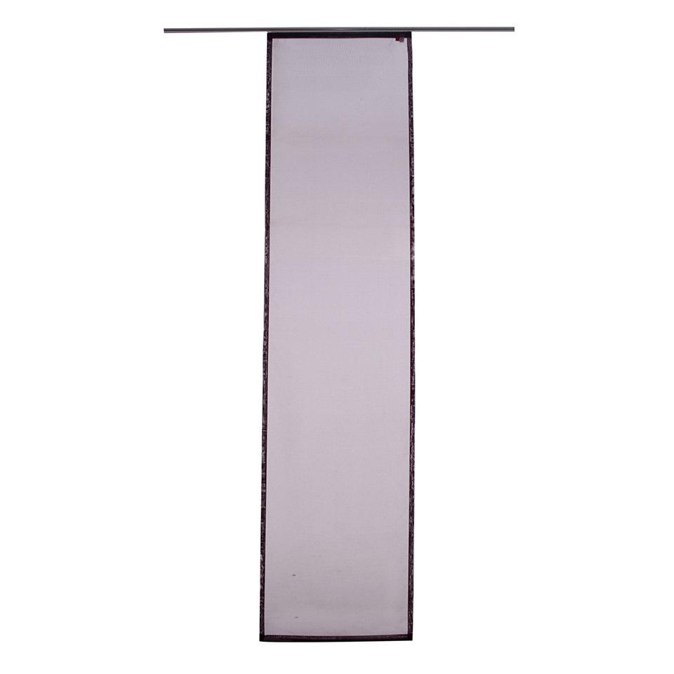 Schiebevorhang, Raffi, �Pearl� (1 St�ck mit Zubeh�r)