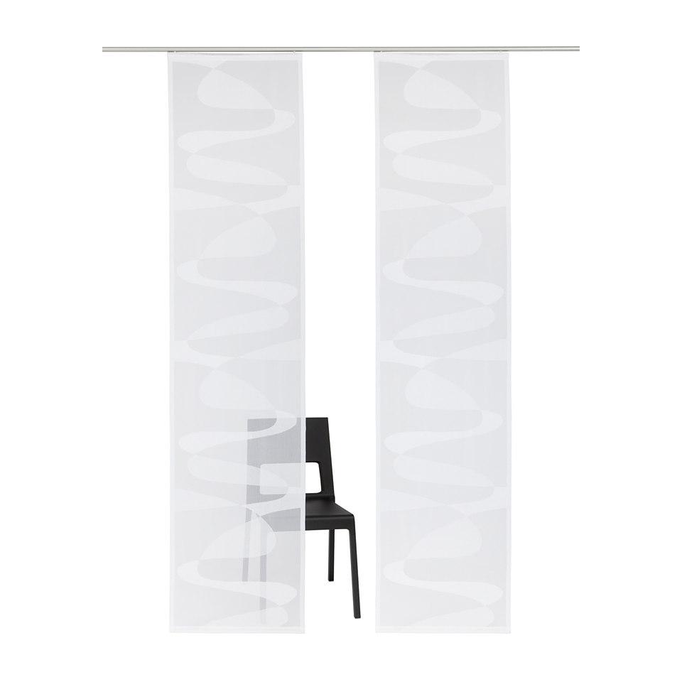 Schiebevorhang, my home, »Almelo« (2 Stück)