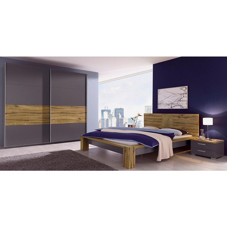 Schlafzimmer-Set, rauch (4-tlg)