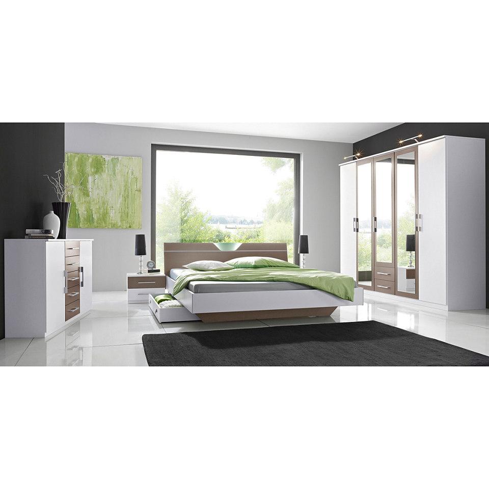 Schlafzimmer-Set, rauch (4-tlg.)