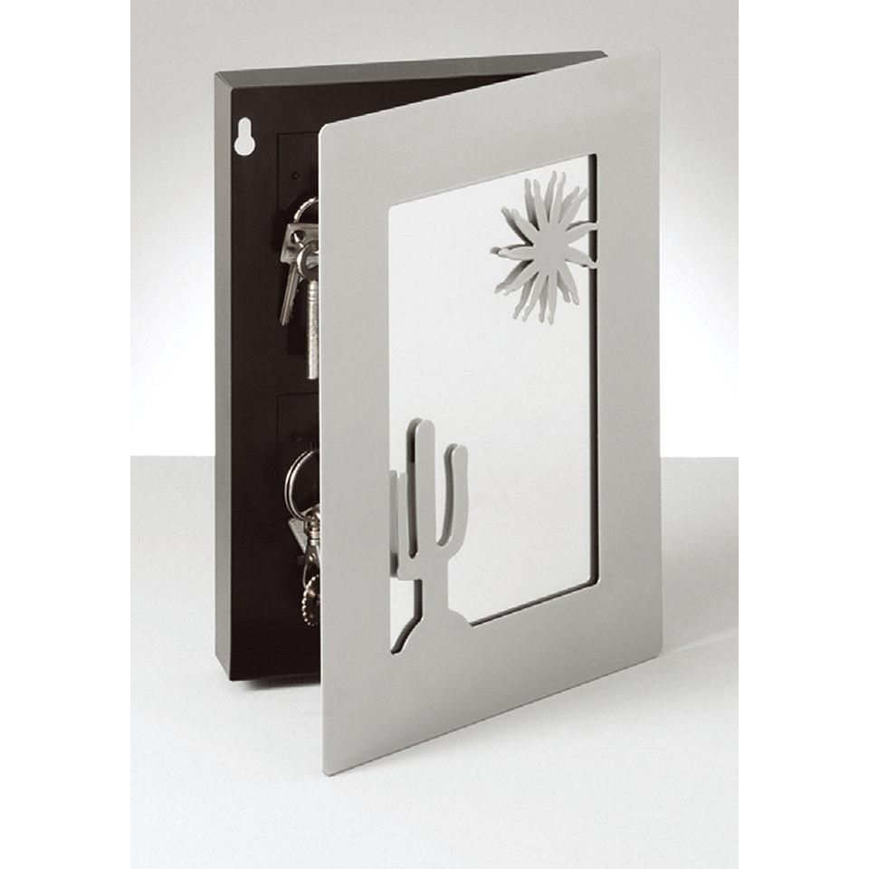 Schlüsselkasten mit Spiegel