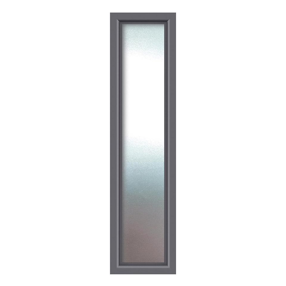 Seitenteil für Alu-Haustüren »S01«, anthrazit