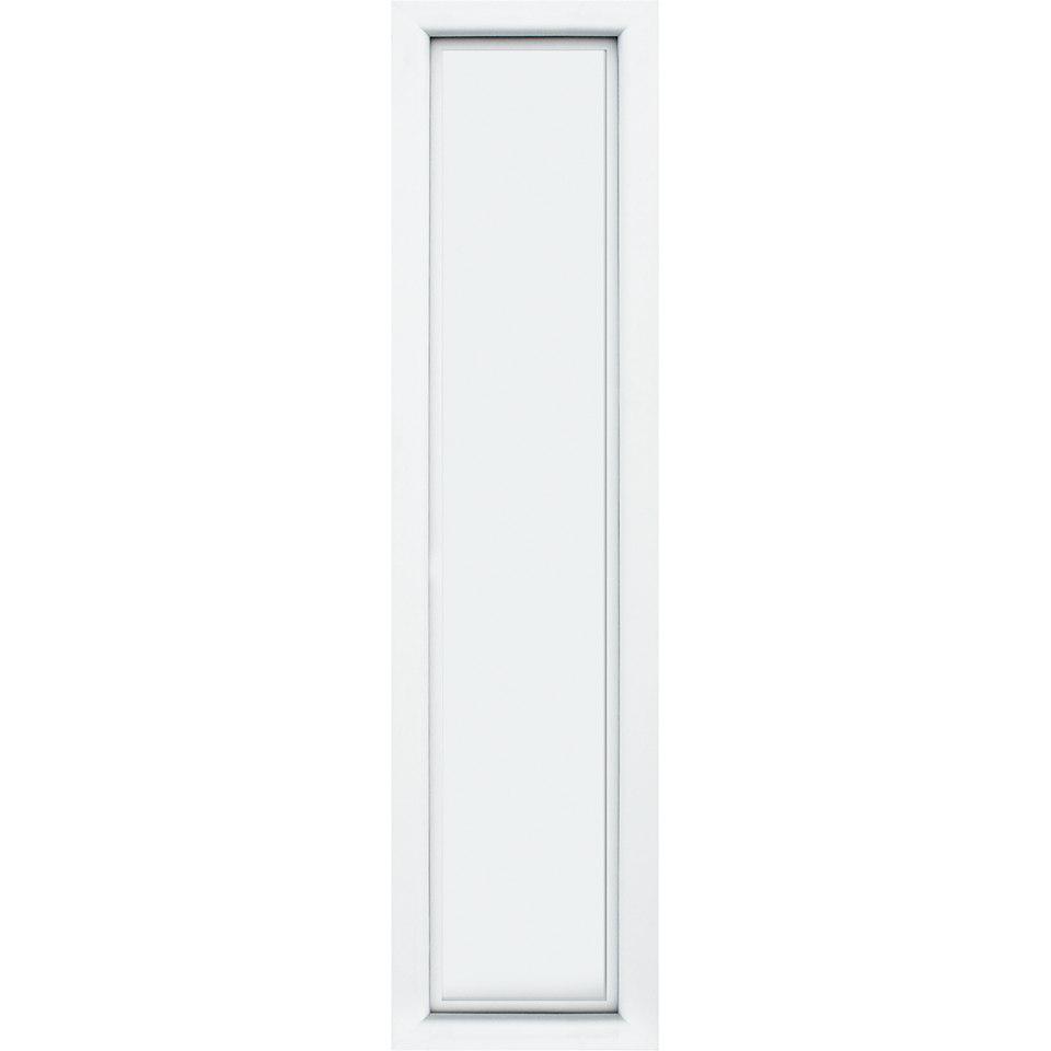 Seitenteil für Alu-Haustüren »S01«, weiß