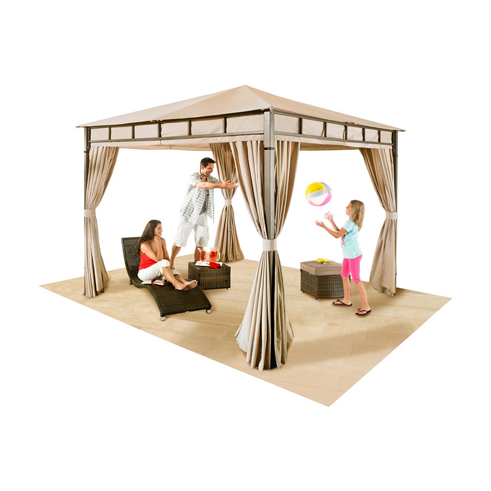 Seitenteile mit Moskitonetz f�r Trend-Pavillon (4 Stck.)