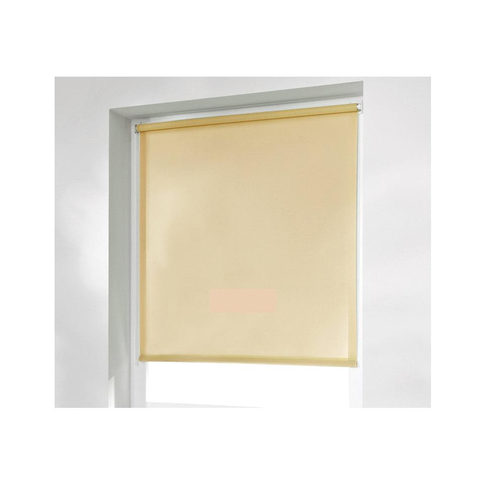 Seitenzugrollo, K-home, �Klemmfix�, im Fixma�, ohne Bohren, Lichtschutz (1 Stck.)