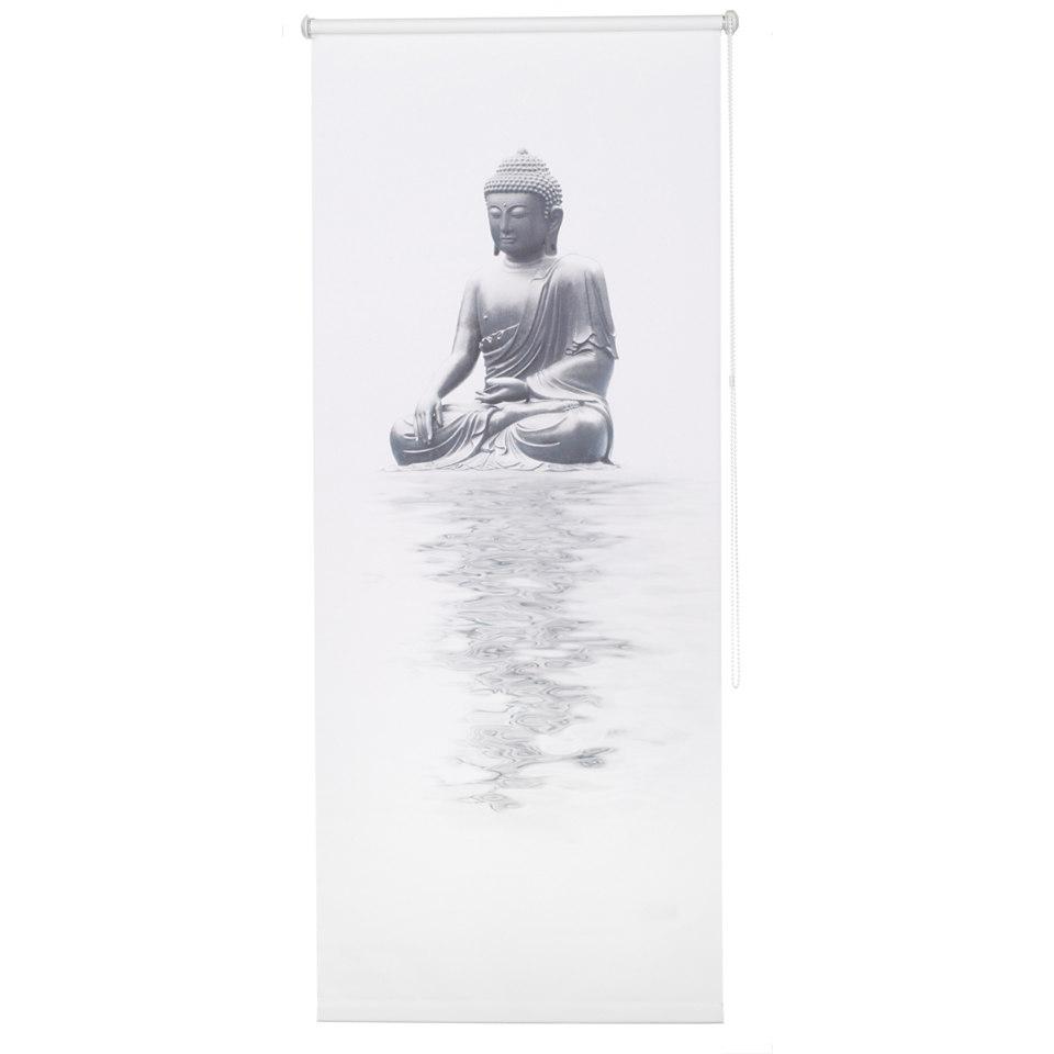 Seitenzugrollo, my home, »Buddha«, im Fixmaß, Lichtschutz (1 Stck.)