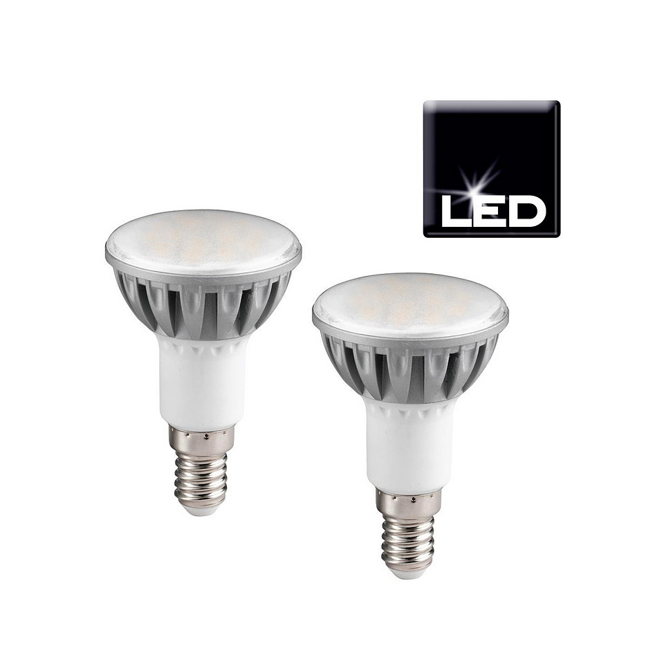 Set: LED-Leuchtmittel, Trio, �E14/R50�, 4,2 Watt (2er Pack)