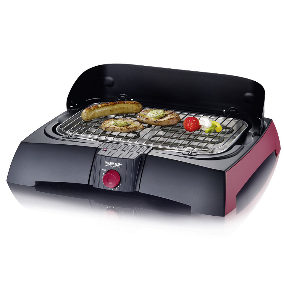 Severin Tischgrill / Barbecue-Grill »PG 2785«, 2300 Watt, made in Germany