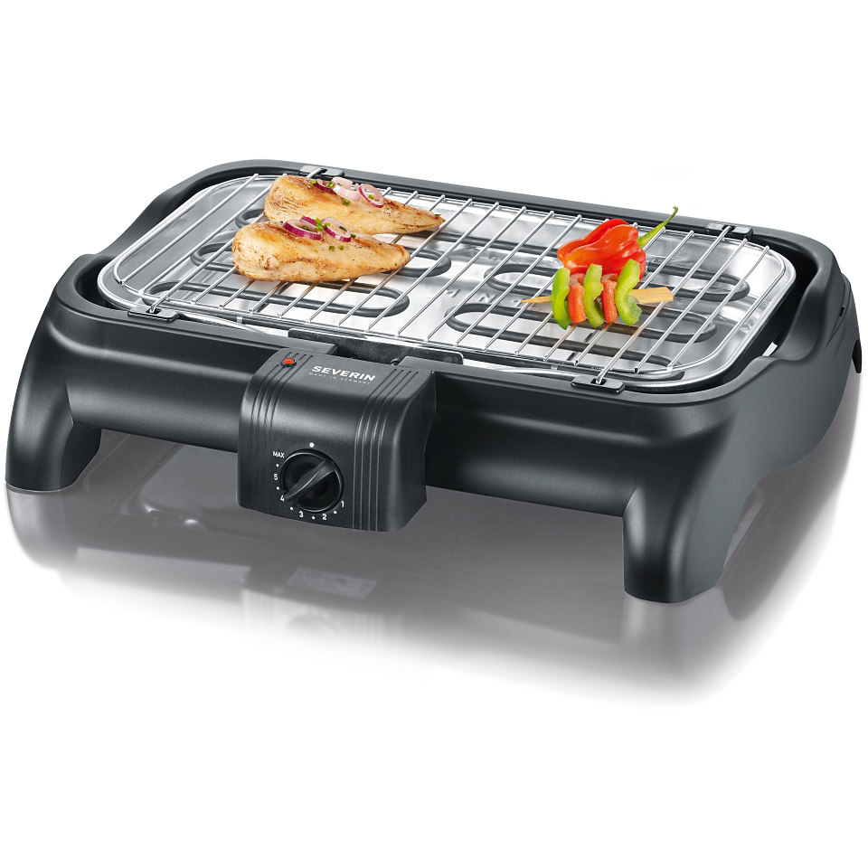 Severin Tischgrill / Barbecue- Grill�PG 1511�, 2300 Watt, made in Germany