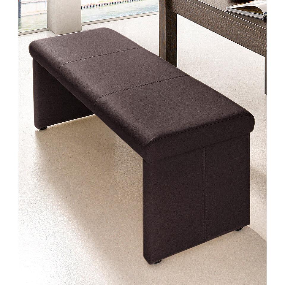 Sitzbank, wahlweise mit R�ckenlehne
