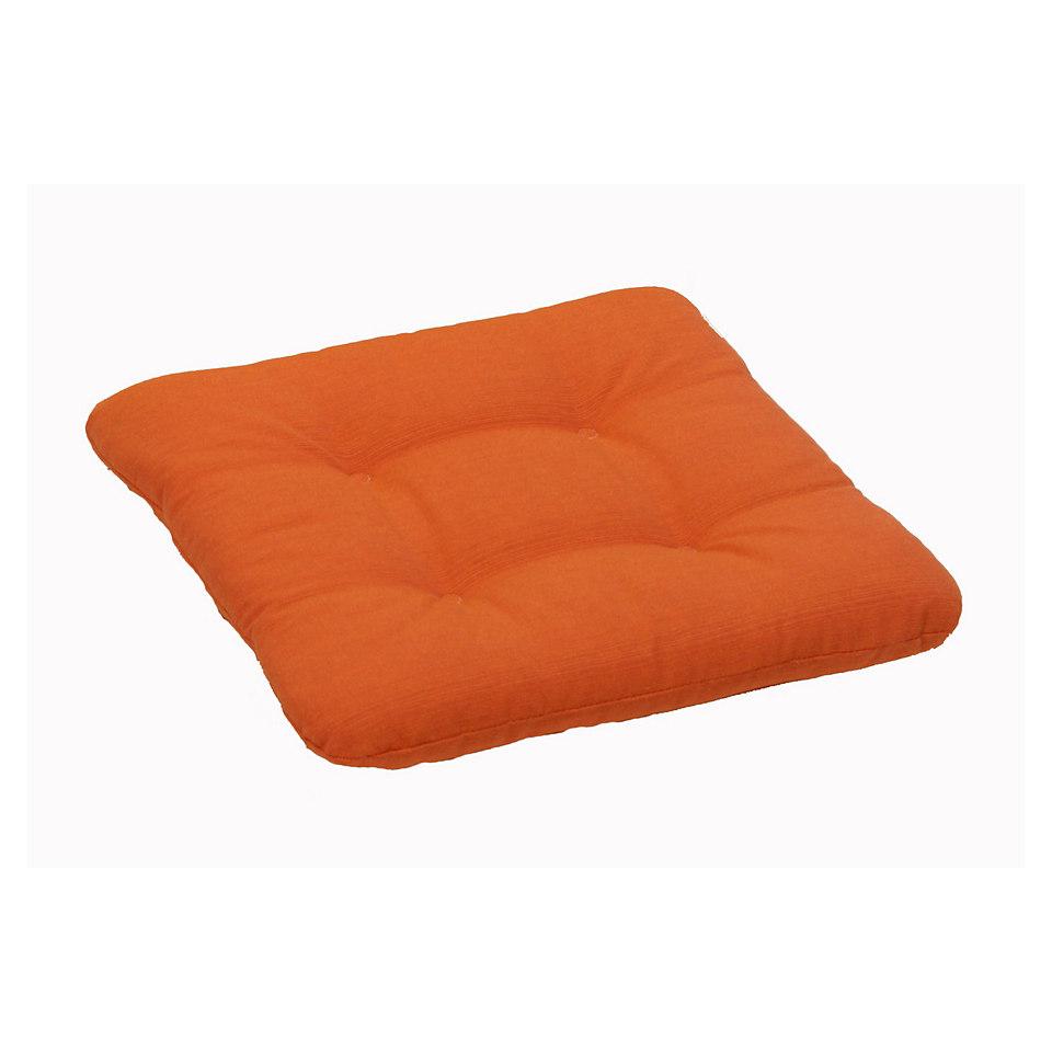 Sitzkissen »Carina orange«