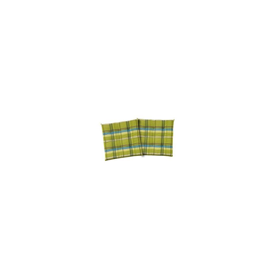 Sitzkissen, Tom tailor, »New Check« (2er Pack)