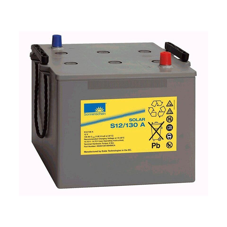 Solar-Gel-Batterie