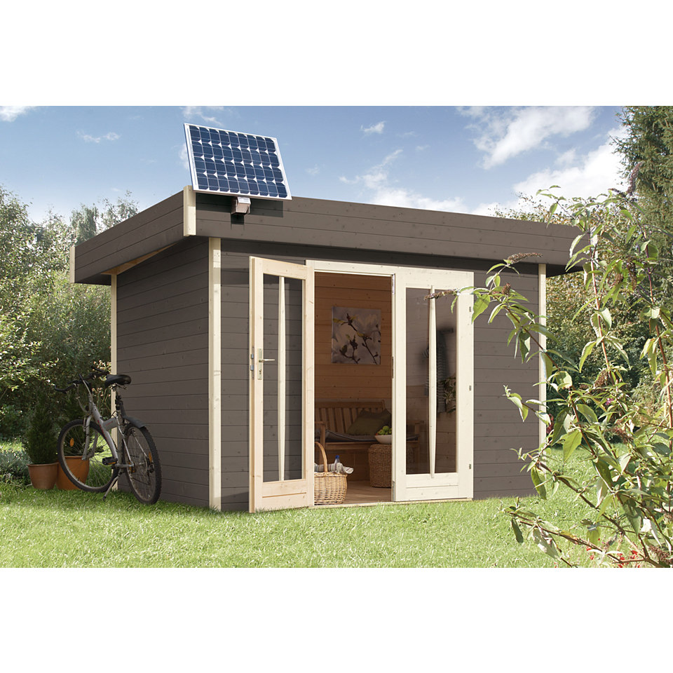 Solarstrom-Set f�r Gartenh�user