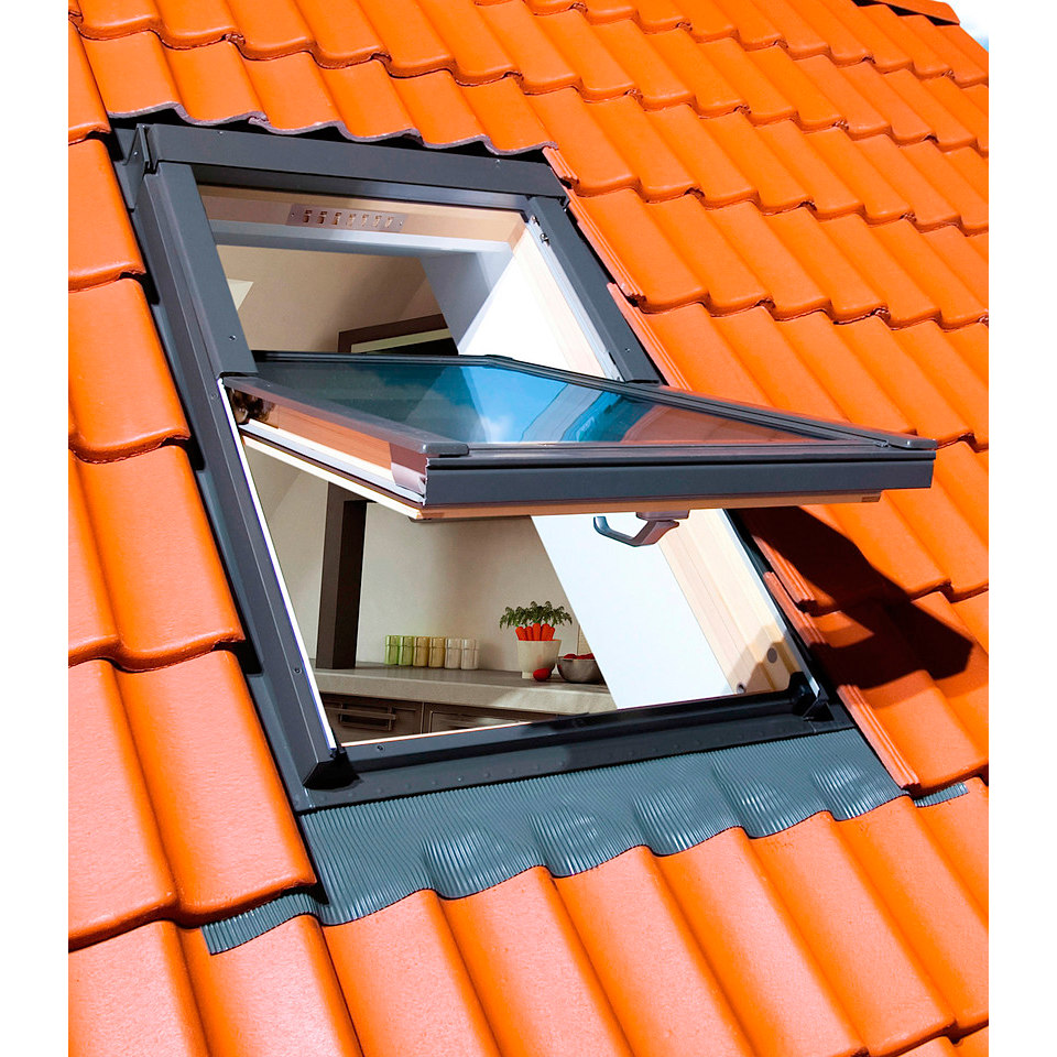 Spar-Set: Schwingfenster, Holz natur