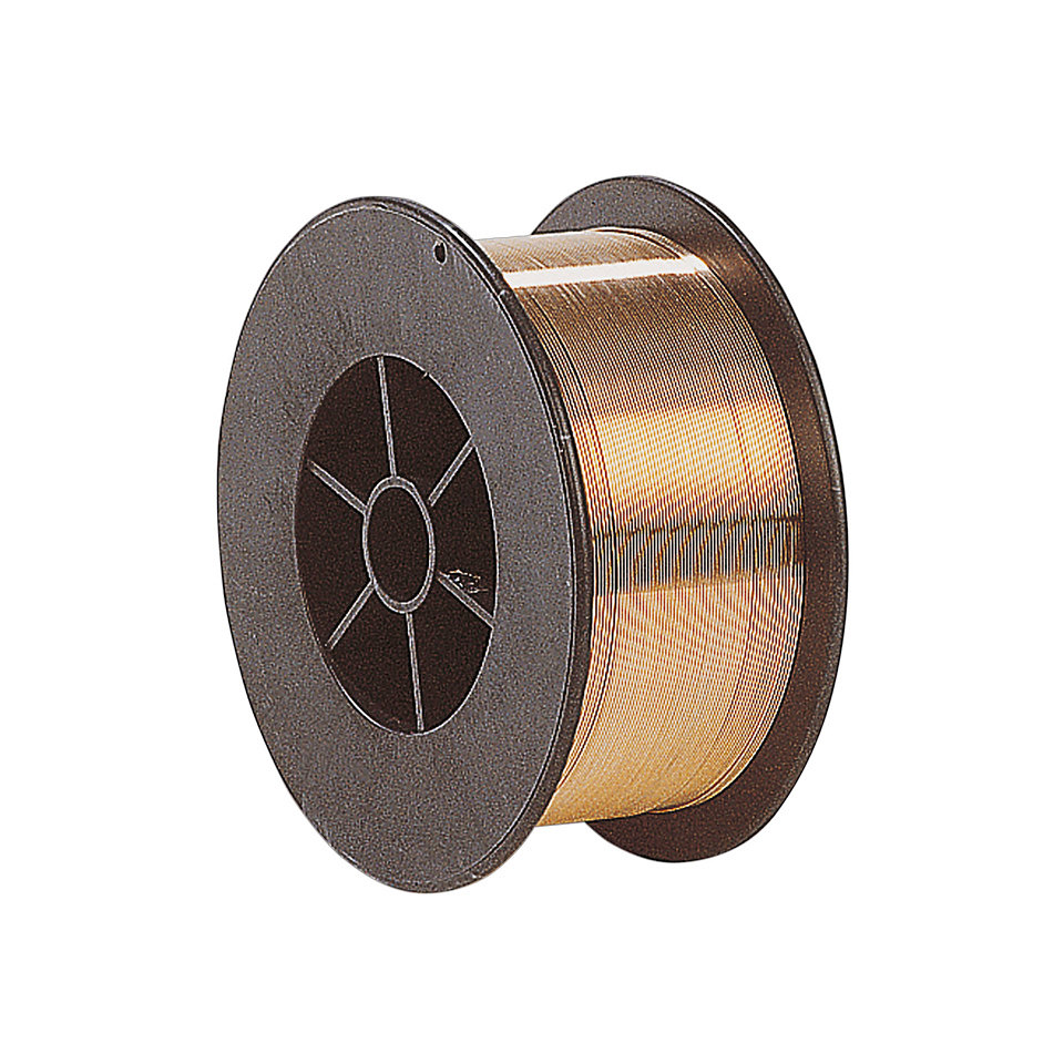 Stahl-Schwei�draht f�r Schutzgas-Schwei�ger�te, 0,6 mm