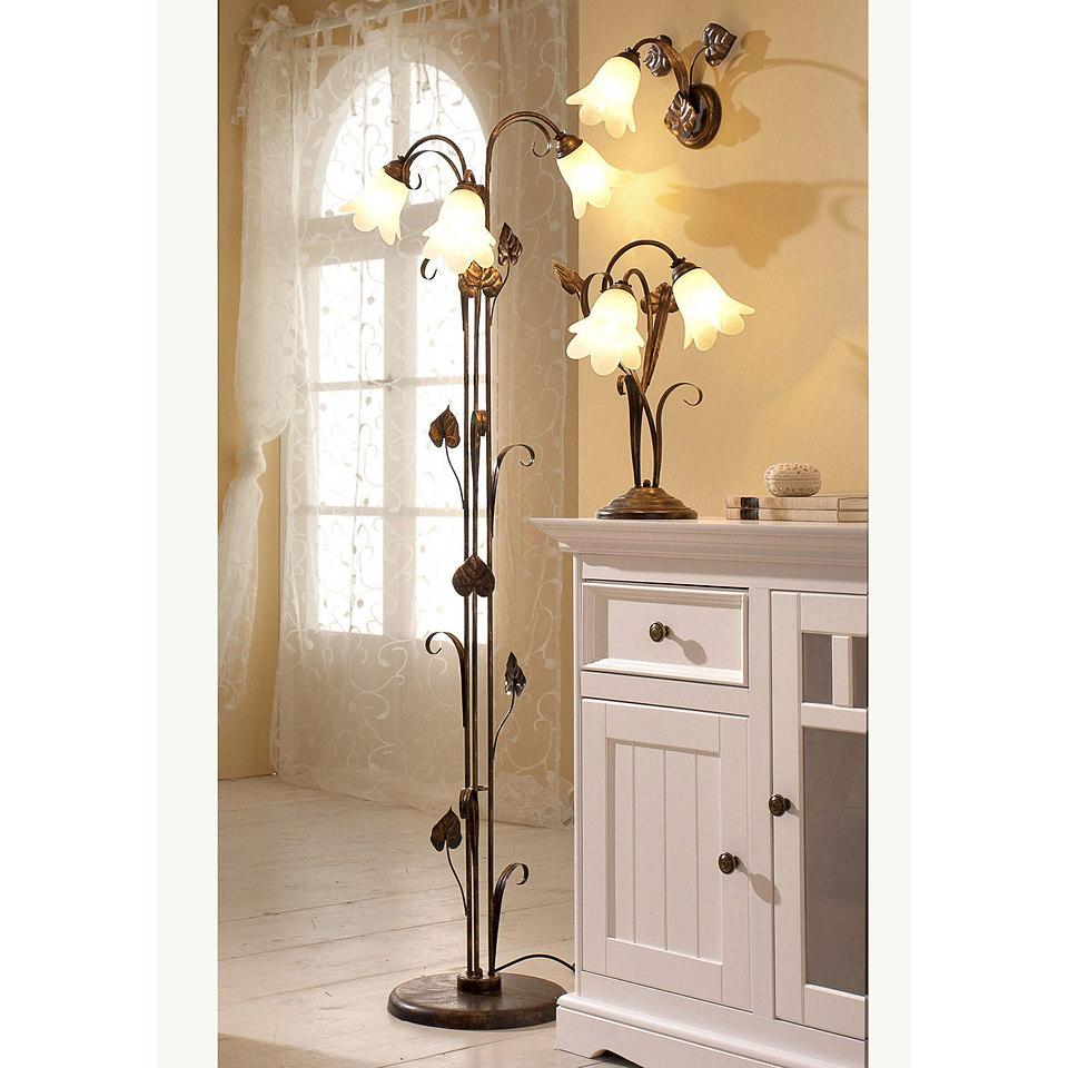 Stehlampe �Florentiner-Serie�, 3-flg.