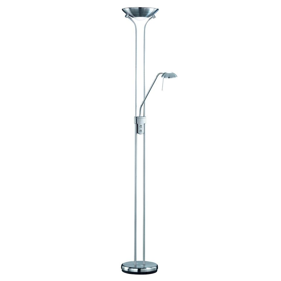 Stehlampe, Trio. Inkl. Leuchtmittel der EEK C, geeignet für Leuchtmittel der EEK B bis C.