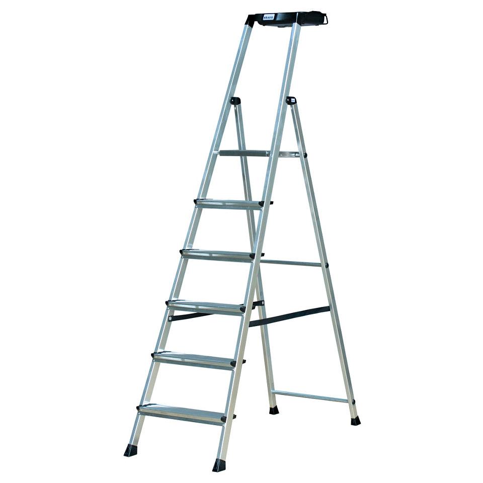 Stehleiter »Secury«, 5-6 Stufen