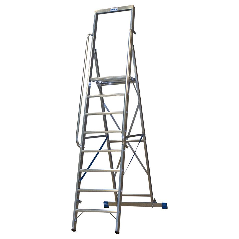 Stehleiter »Stabilo Gr. Platte«, 6-14 Stufen