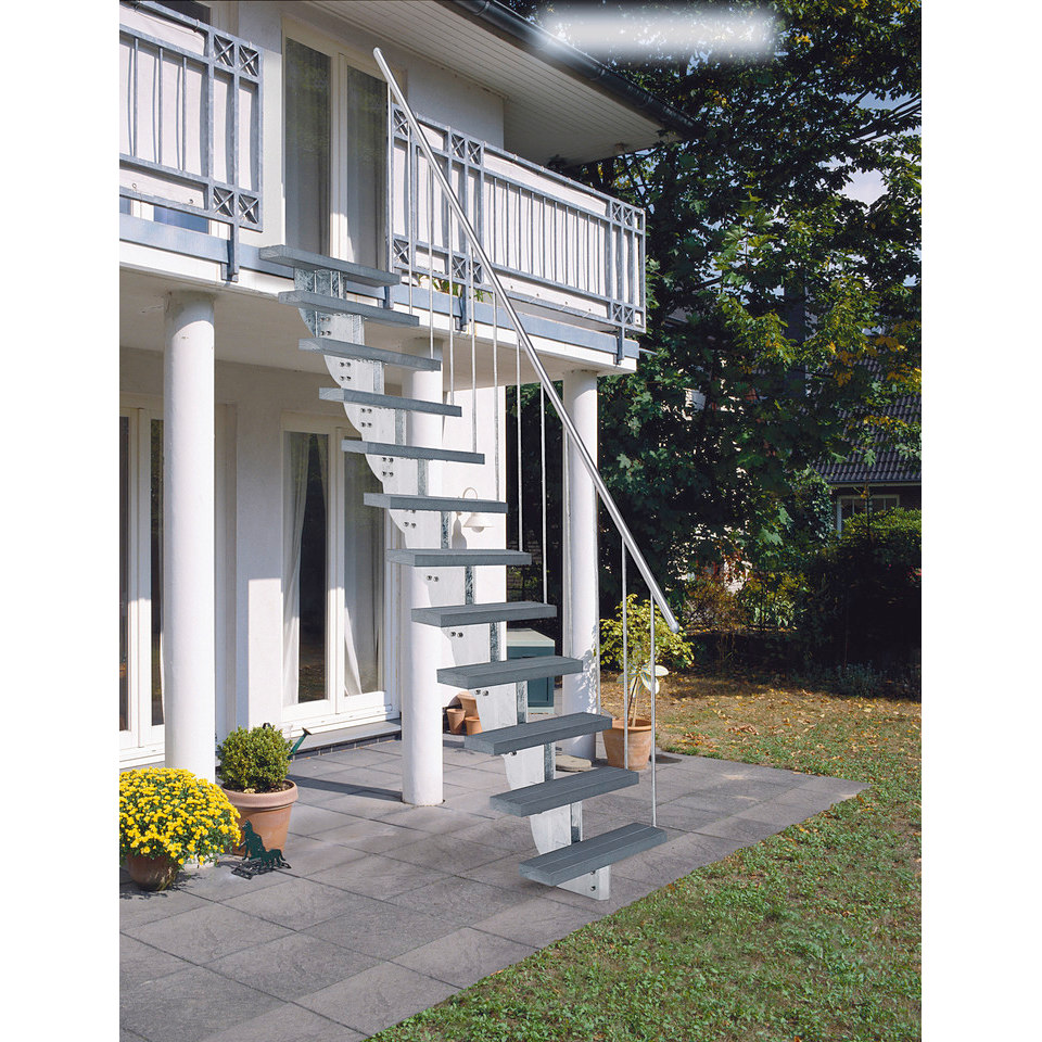 Steiggeländer für die Außentreppe »Gardenstep«