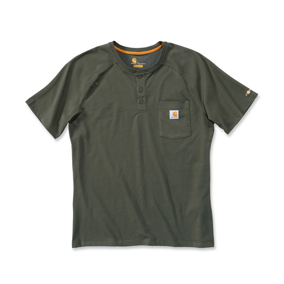 T-Shirt »Force Henley«