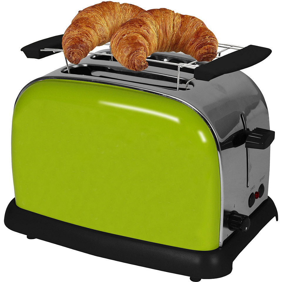 TEAM KALORIK 2-Scheiben-Toaster TKG TO 1008 AG