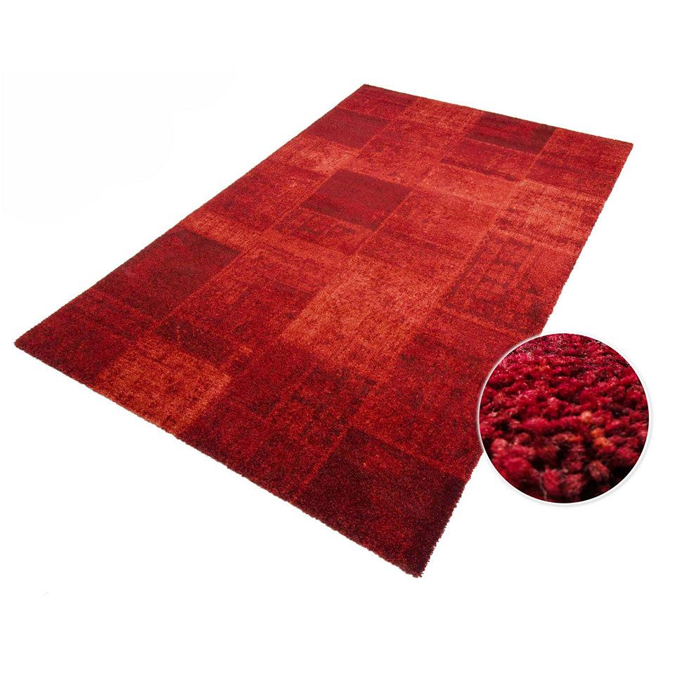 Teppich, »Almeria«, Melange-Effekt, gewebt