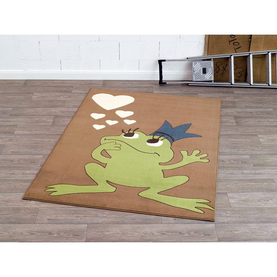 Teppich, Hanse Home, »Frosch Froschkönig«, getuftet