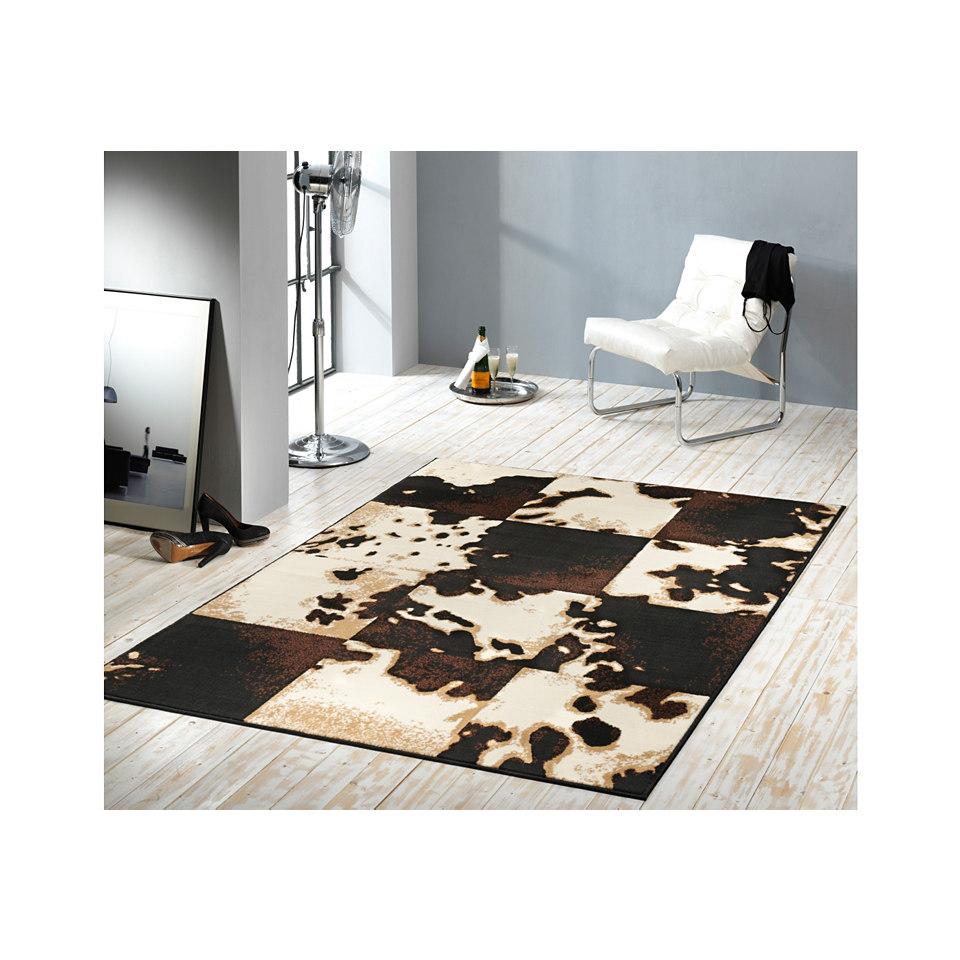 Teppich, Hanse Home ´´Kuhfell-Teppich Mosaik Svelvik´´