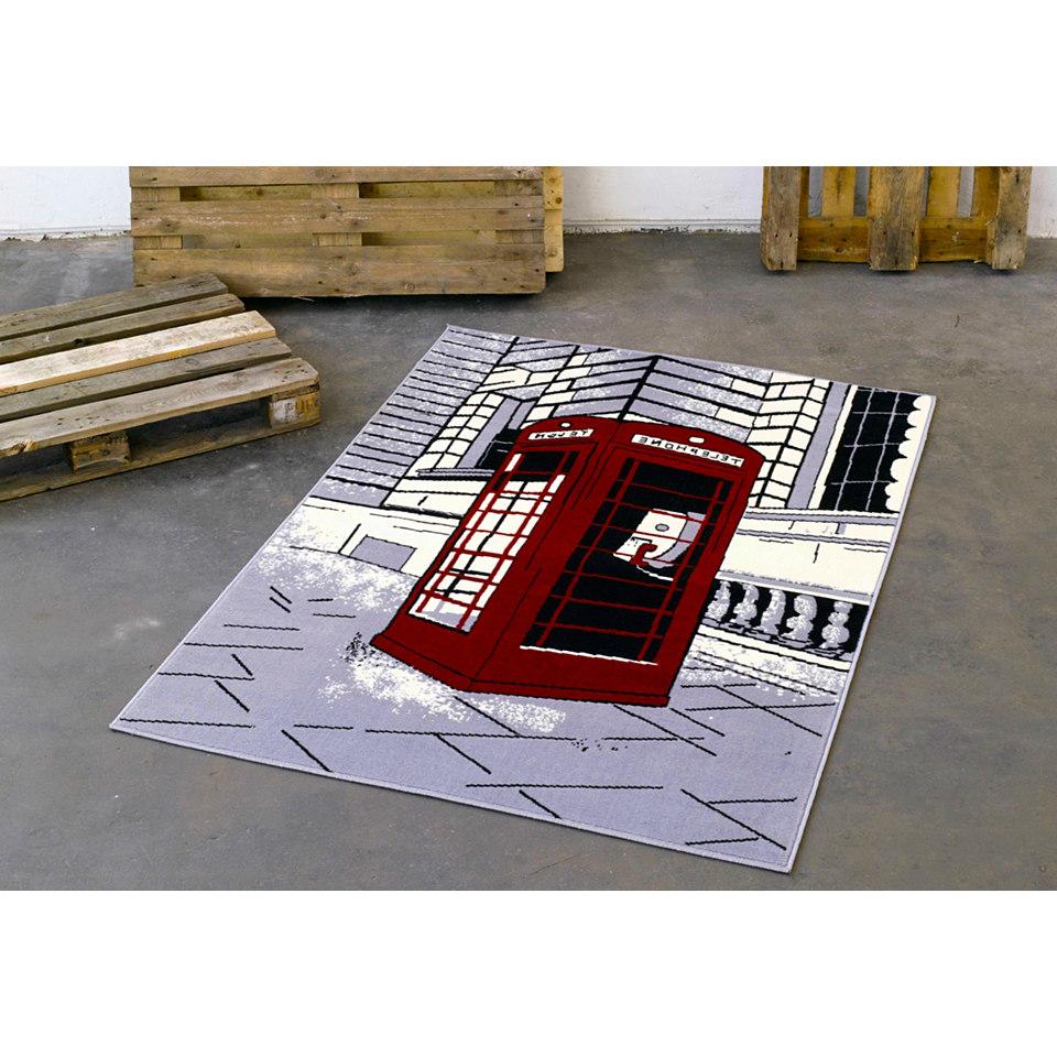 Teppich, Hanse Home, »Telefonzelle«