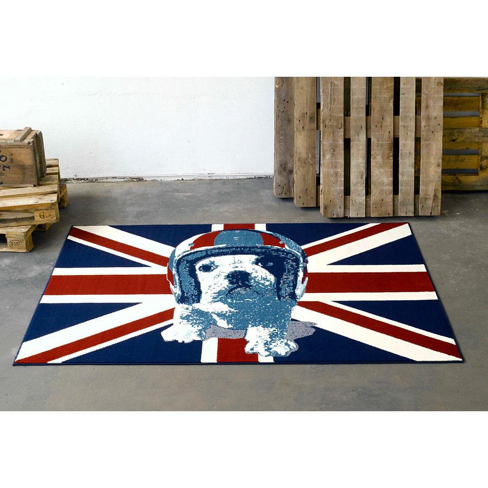 Teppich, Hanse Home, »Union Jack Hund«