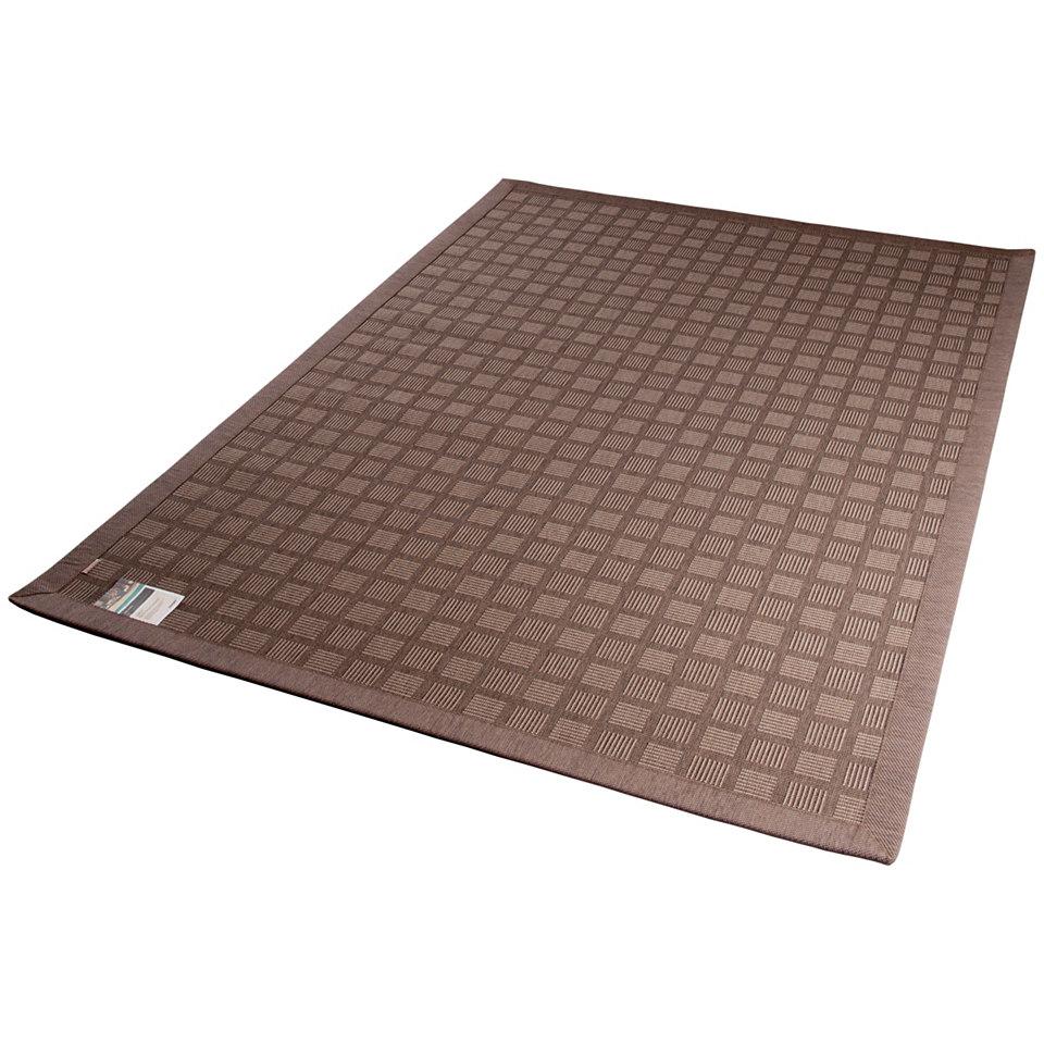 Teppich, In- und Outdoor, Dekowe, �Pomona�, Melange-Effekt, gewebt, Sisaloptik