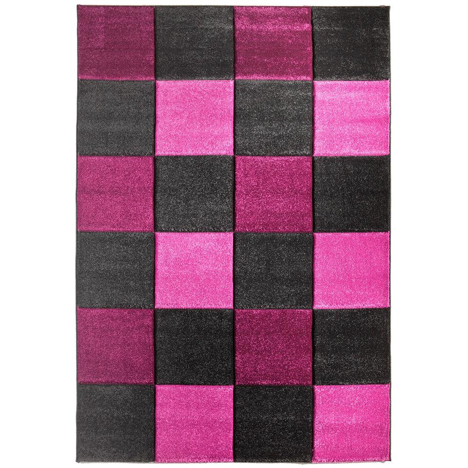 Teppich »Incourt«, handgearbeiteter Konturenschnitt, gewebt