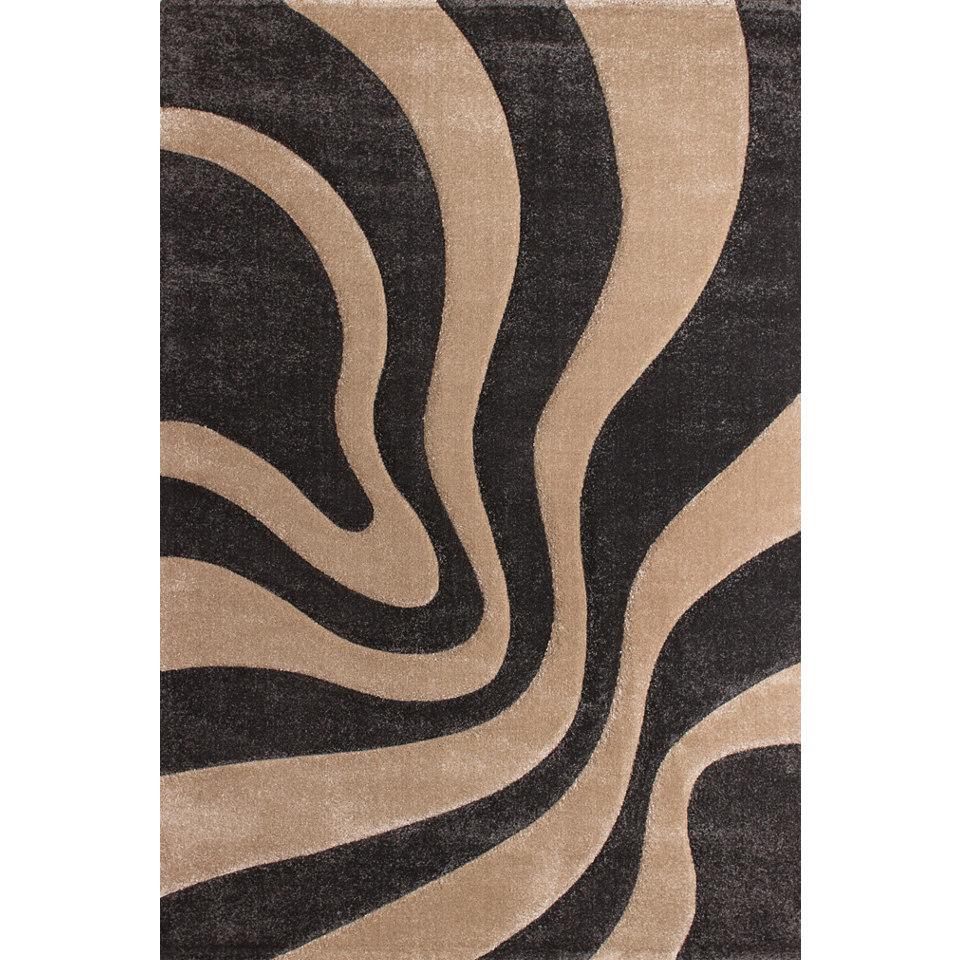 Teppich, Lalee, »Lambada 452«, handgearbeiteter Konturenschnitt, gewebt