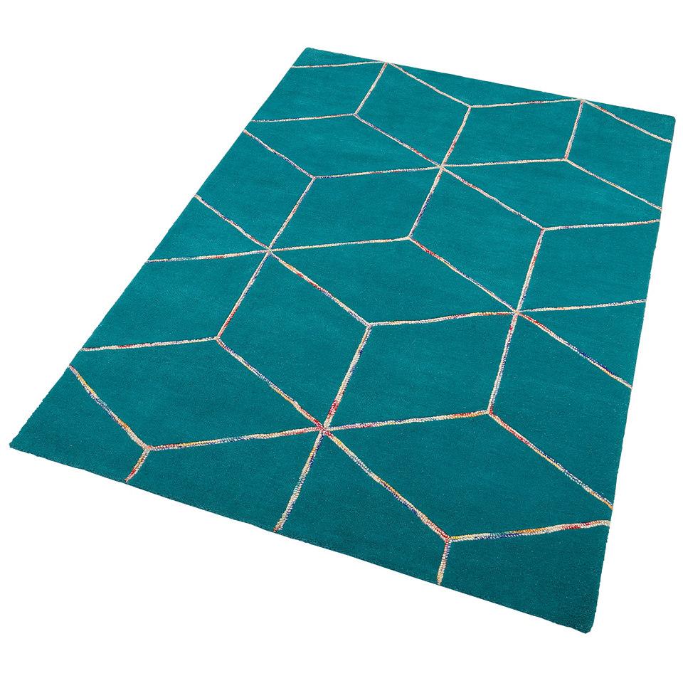Teppich, Theko, �Anton�, handgearbeitet, Wolle, 4,2 kg/m�