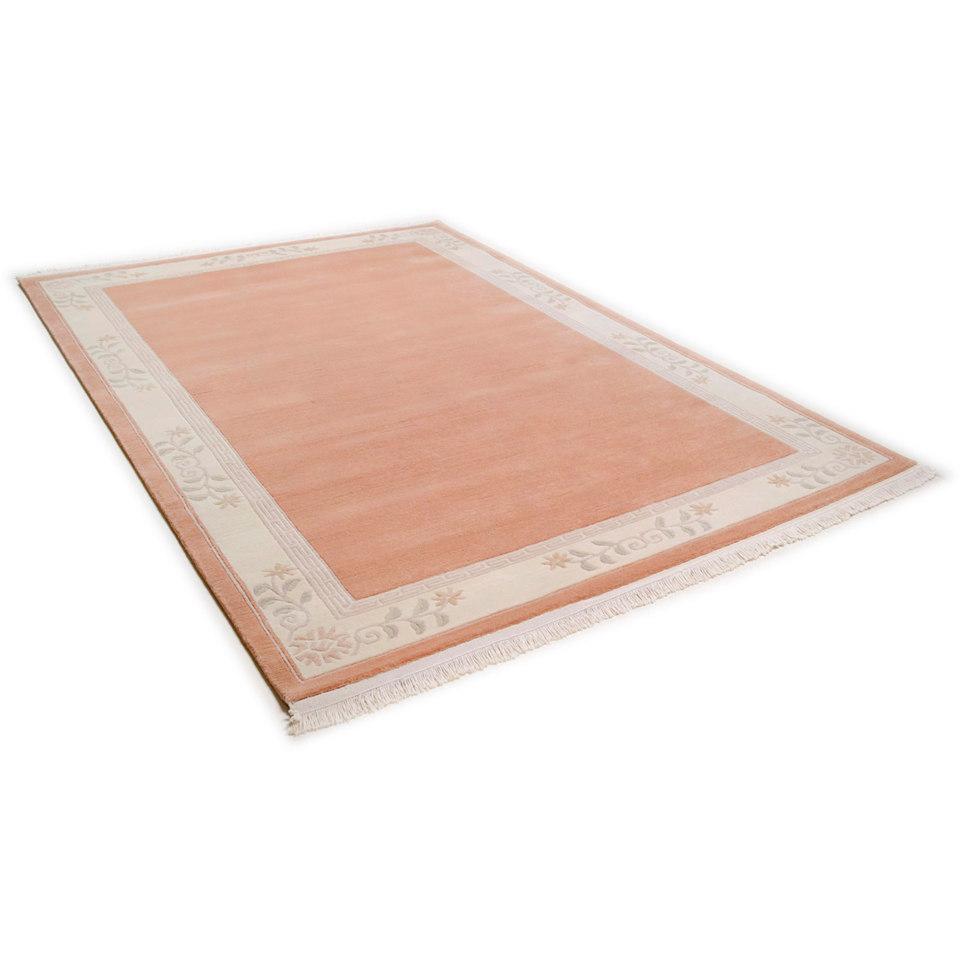 Teppich, Theko, »Classica«, handgeknüpft, Wolle