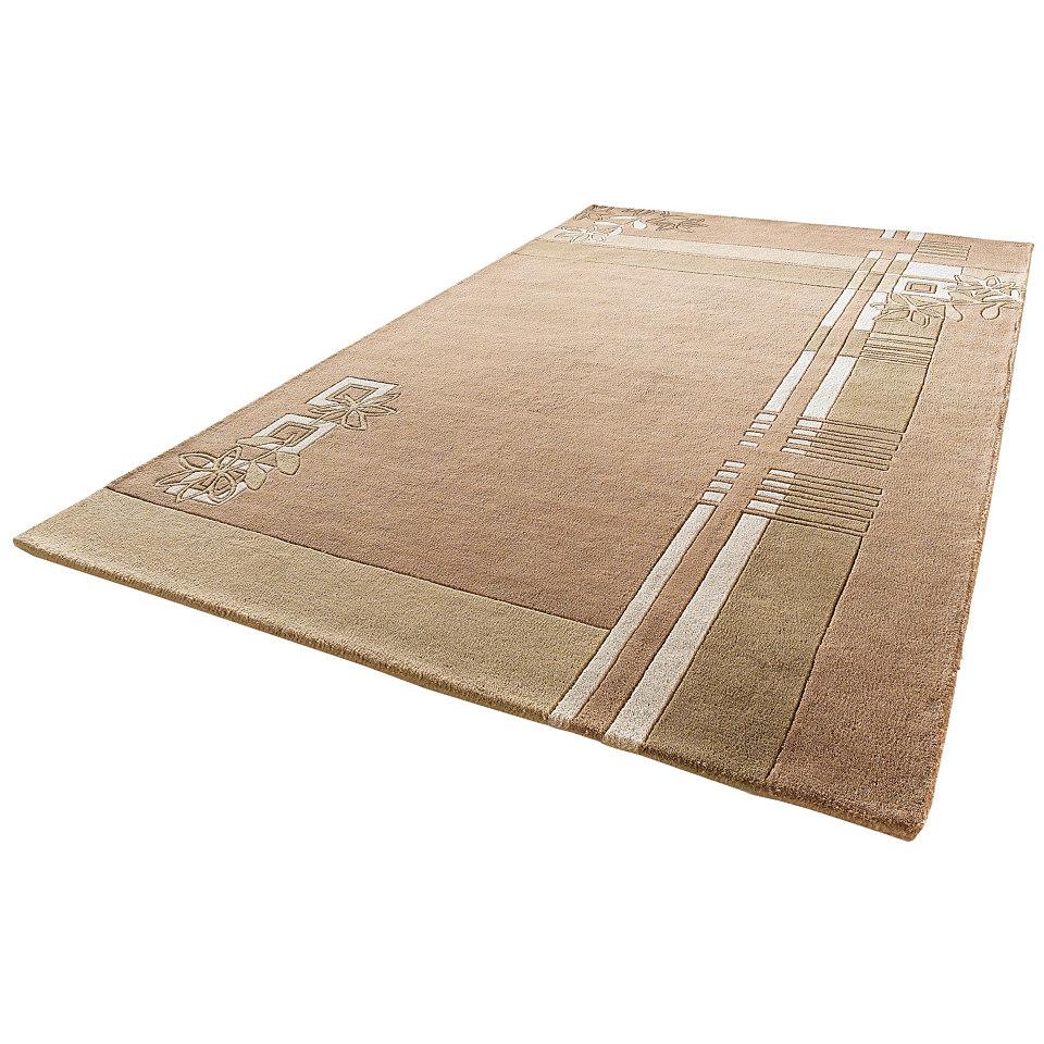 Teppich, Theko, ´´Gaur´´, handgetuftet, reine Schurwolle