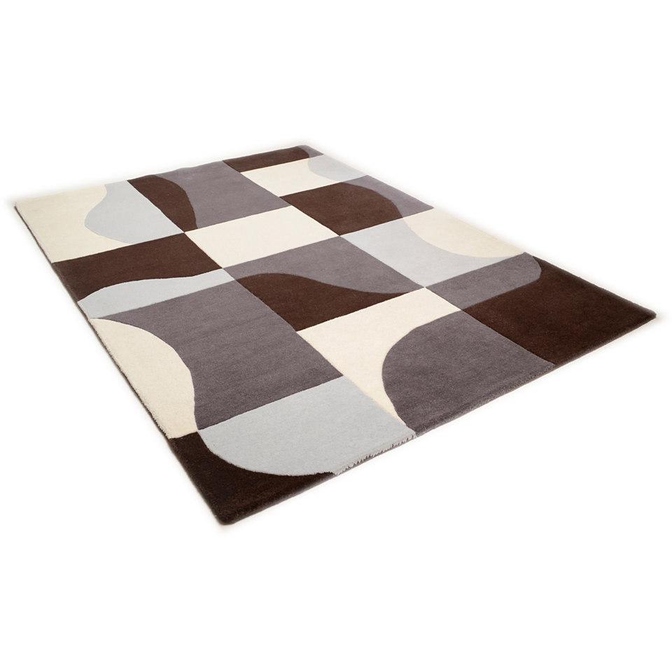 Teppich, Theko, �Hawai 6829�, handgearbeitet, Wolle