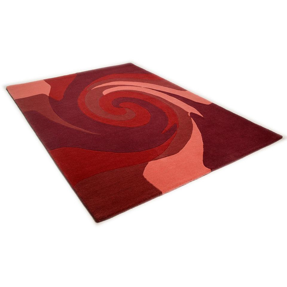 Teppich, Theko, »Hawai 6830«, handgearbeitet, Wolle
